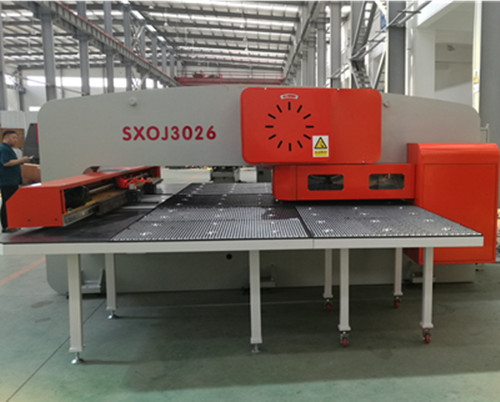 SXOJ Series Closed mechanical CNC Turret Punching Machine