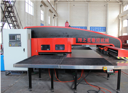 SXOY Series Closed Hydraulic CNC Turret Punching Machine