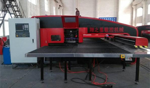 SXOY Series Closed Hydraulic CNC Turret Punching Machine-Closed